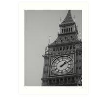 Queen Elizabeth Tower Art Print