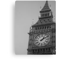 Queen Elizabeth Tower Canvas Print