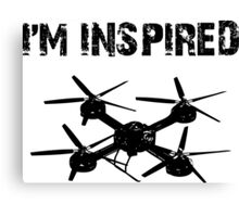 I'M INSPIRED Canvas Print