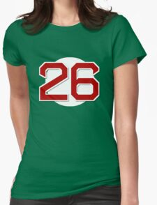 #26 Retired Womens Fitted T-Shirt