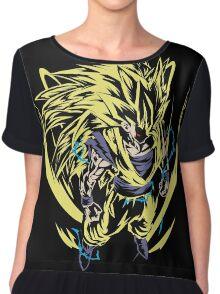 Super Saiyan Goku Shirt - RB00445 Chiffon Top