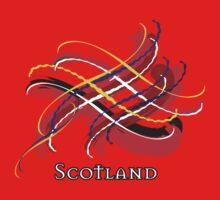 Scotland Tartan Twist Kids Clothes