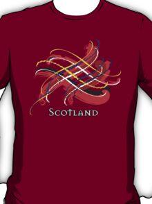 Scotland Tartan Twist T-Shirt