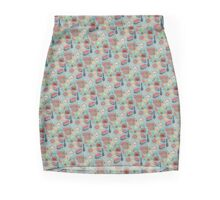 Nyonya tea party Mini Skirt