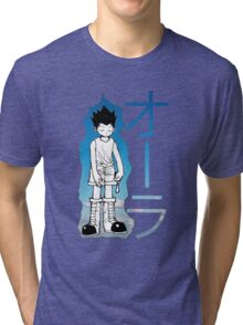 HUNTER X HUNTER GON AURA NEN Tri-blend T-Shirt