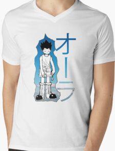 HUNTER X HUNTER GON AURA NEN Mens V-Neck T-Shirt