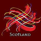 Scotland Tartan Twist by eyemac24