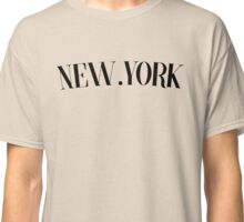 New York WORLD TOUR Classic T-Shirt