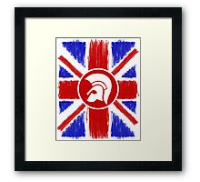 Trojan Union Jack  Framed Print