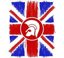 Trojan Union Jack  Photographic Print