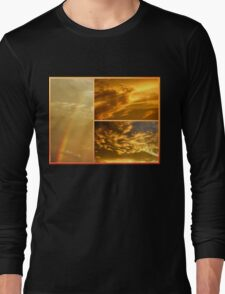 The Dragon and the Phoenix after the rain Long Sleeve T-Shirt