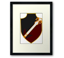 school of witchcraft and wizardry Framed Print