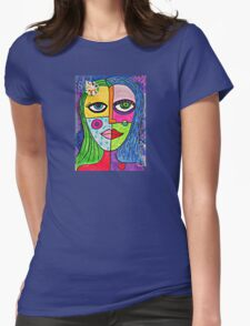 Pieces of Me Womens Fitted T-Shirt
