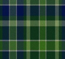 02733 Erie County, Pennsylvania Fashion Tartan Sticker