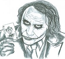 WHY SO SERIOUS?  by natasha  jones