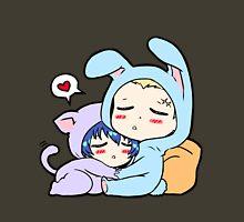 Kannao - Bunny and Cat Unisex T-Shirt