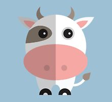 Cow moo Cartoon Unisex T-Shirt
