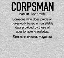 Funny Corpsman Meaning Shirt - Corpsman Noun Definition Unisex T-Shirt