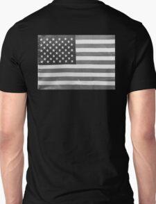 American Flag black-and-white  Unisex T-Shirt