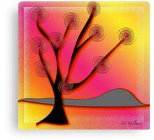 Autumn's tree Canvas Print