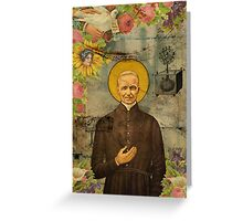 Saints Collection -- The Holy Father by Elo Greeting Card