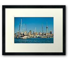 City of Sails Framed Print