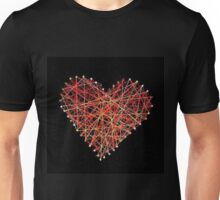 String heart Unisex T-Shirt