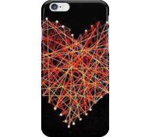 String heart iPhone Case/Skin