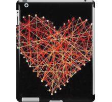 String heart iPad Case/Skin