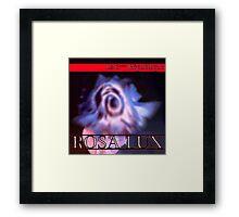 Rosa Lux Negative Framed Print