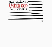 One Nation Under God Womens Fitted T-Shirt