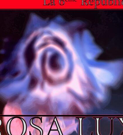 Rosa Lux Negative Sticker