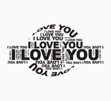 I LOVE YOU by Floris155