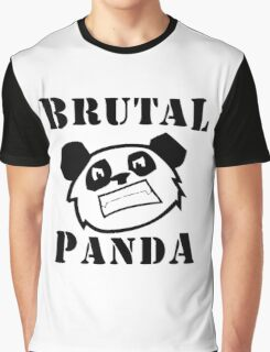 Brutal Panda Graphic T-Shirt