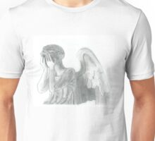 Weeping Angel Doctor Who Sketch Unisex T-Shirt