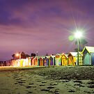 Brighton Bathing Boxes by Julie Thomas