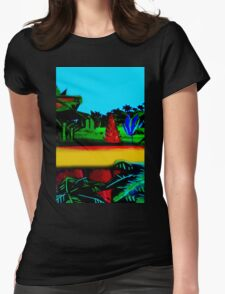 Vivid 2016 Primordial Road Womens Fitted T-Shirt