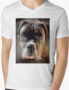 Boxer Series Mens V-Neck T-Shirt