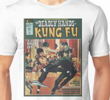 Kung Fu Comic Cover Unisex T-Shirt