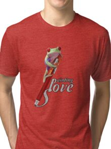 Painting love Tri-blend T-Shirt
