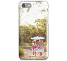 The End of a Summer's Day iPhone Case/Skin