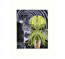 The Collect Call of Cthulhu Art Print