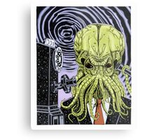 The Collect Call of Cthulhu Metal Print