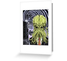 The Collect Call of Cthulhu Greeting Card