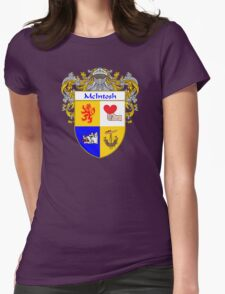McIntosh Coat of Arms/Family Crest Womens Fitted T-Shirt