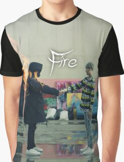 BTS FIRE  Graphic T-Shirt