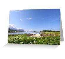 Norwegian Landscape Greeting Card