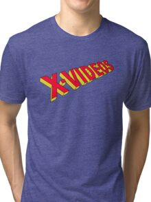 x-men x-videos Tri-blend T-Shirt