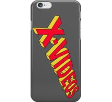 x-men x-videos iPhone Case/Skin