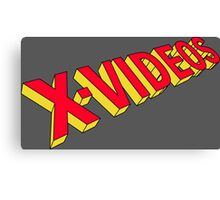 x-men x-videos Canvas Print